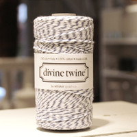 Bakers Twine - Blueberry & White