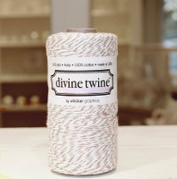 Bakers Twine - Brown & White