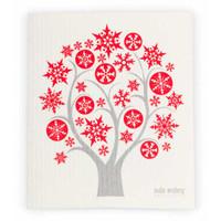 Winter Tree Red