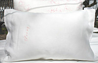 Linen Pillow Cover  - Peony