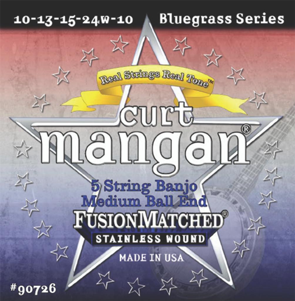 5-String Banjo Med Ball-End Stainless