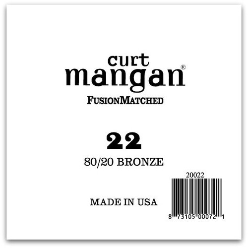 22 80/20 Bronze Single String