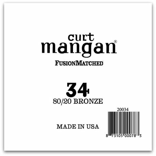 34 80/20 Bronze Single String