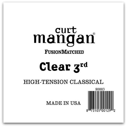 Clear 3rd High-Tension Classic Single String