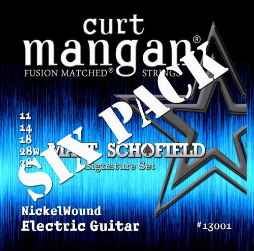 Matt Shcofield Signature Set Nickel Wound Six Pack