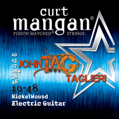 John Taglieri Custom 10-48 Nickel Wound Set PACK OF 3