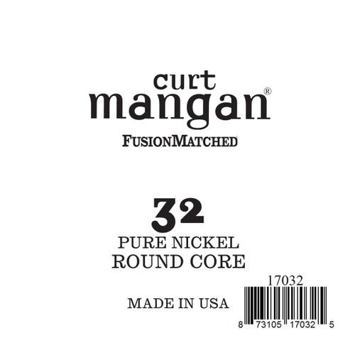 32 Pure Nickel ROUND CORE Single String