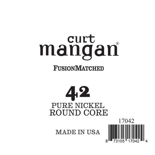 42 Pure Nickel ROUND CORE Single String