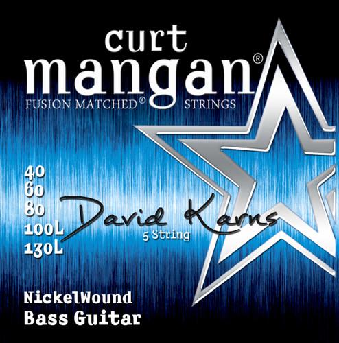 DAVID KARNS Custom XL Nickel Bass 5-String
