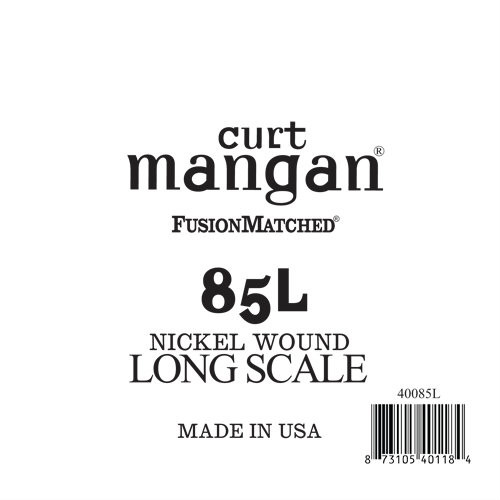 85 Extra Long Nickel Wound Bass Single String