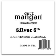 Silver 6th High Tension Tie-on Single String