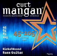 45-105 Nickel Wound Light Bass Set