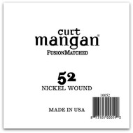 52 Nickel Wound Ball End Single String