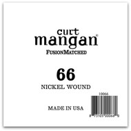 66 Nickel Wound Ball End Single String