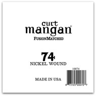 74 Nickel Wound Ball End Single String