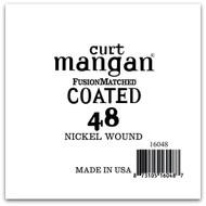 48 Nickel-Plated Steel COATED Single String