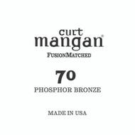70 PhosPhor Bronze Single String