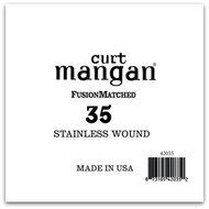 35 Stainless Wound Bass Single String