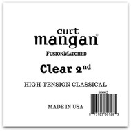 Clear 2nd High-Tension Classic Single String