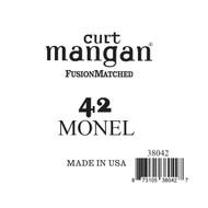 42 Monel Ball End Single String