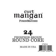 24 Phozphor Bronze ROUND CORE Single String