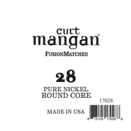 28 Pure Nickel ROUND CORE Single String