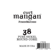 38 Pure Nickel ROUND CORE Single String