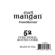 52 Pure Nickel ROUND CORE Single String