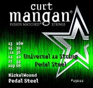 12-String Universal Pedal Steel Nickel Wound Set
