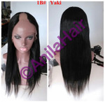 Anila hair yaki relaxed blend u part wig