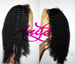 kinky curly u part wig