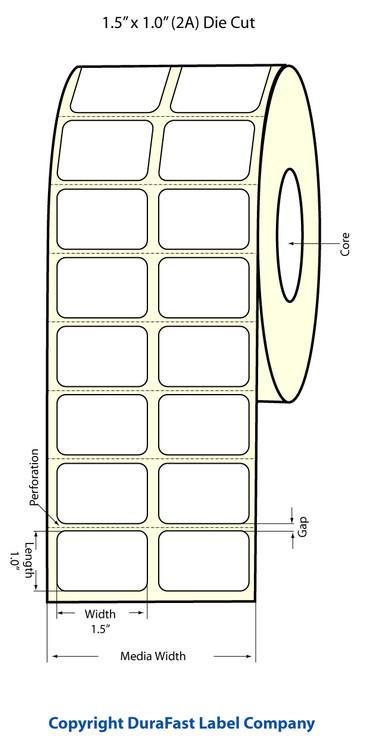 Epson TM-C3500 1.5 x 1 Matte Labels