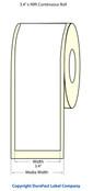 Epson TM-C3500 3.4 x 90 Feet Chemical Label Roll