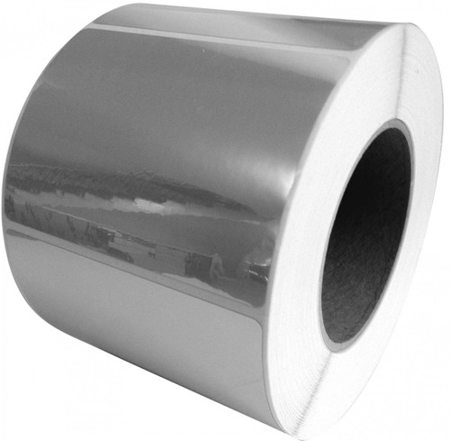 """LX900   LX810   LX800    4"""" x 2"""" Silver Polyester Labels"""