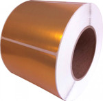 "LX900 | LX810 | LX800 |  2"" x 1"" Gold Polyester Labels"