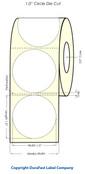 Primera LX400 1 inch Circle High-Gloss Labels | 921003