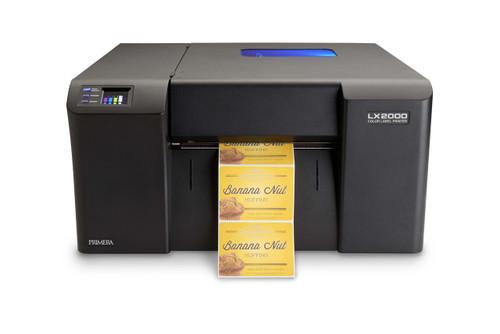 Primera LX2000 Color Label Printer with Pigment Inkjet Technology for GHS Labels