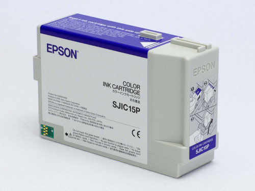 Epson TM-C3400 Color Pigment Ink Cartridge| SJIC15P | Epson Ink Cartridges