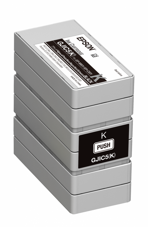 Epson GP-C381 Black Pigment Ink Cartridge GJIC5  Epson Ink Cartridges