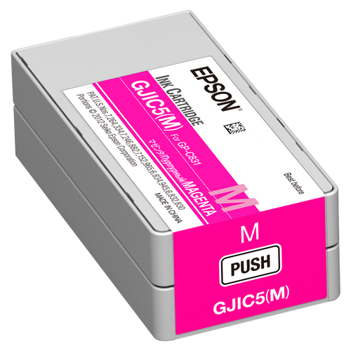 Epson GP-C831 Magenta Pigment Ink Cartridge|GJIC5| Epson Ink Cartridges