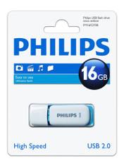 16GB Philips High Speed Snow Series 2.0 Flash Key Drive USB Memory Stick. 1 Pack