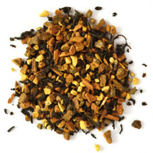 This is a fine spice blend made according to an old Indian recipe. Flavoured with cinnamon, hawthorn petals, ginger bits, cloves, black pepper and cardamom.