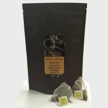 Silk Pyramid Tea - GREEN SENCHA (25 Bags)
