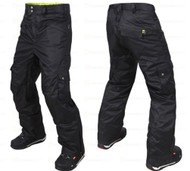 M3 Griffin Men's Ski Snowboard Pants Black