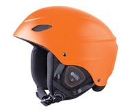 Demon Audio Phantom Orange Ski Snowboard Helmet - 2016