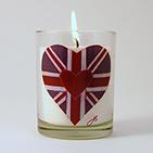 Hand made designer candles