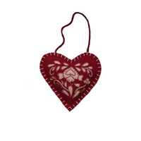 Romany Mini Spice Heart (Red)