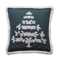 Nordic Grey Tree Cushion
