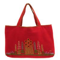 Country Garden Bag (Red)