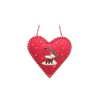 Robin Mini Spice Heart (Red)
